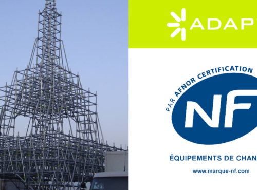 ADAPT® Multidirectional System certified by NF Standard
